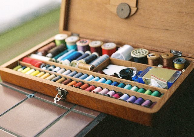 Sewing box [35mm] by Felipe Neves, via Flickr
