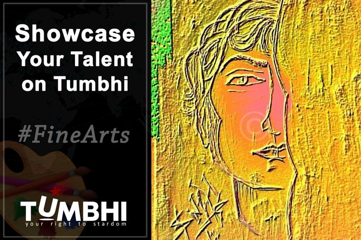 At Tumbhi we celebrate every talent whether it's sculpturing, drawing, painting or making crafts. We are keen to showcase the different forms of fine arts . If you are an expert or amateur in any of the fine arts techniques then register with us and get opportunity to showcase your art online. Visit http://finearts.tumbhi.com/ to register. #FineArts