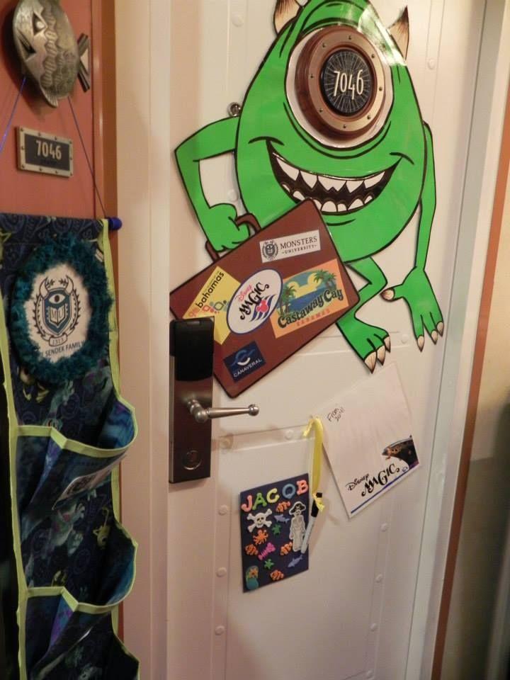 Disney Cruise Door Decor Disney Cruise Stuff Pinterest