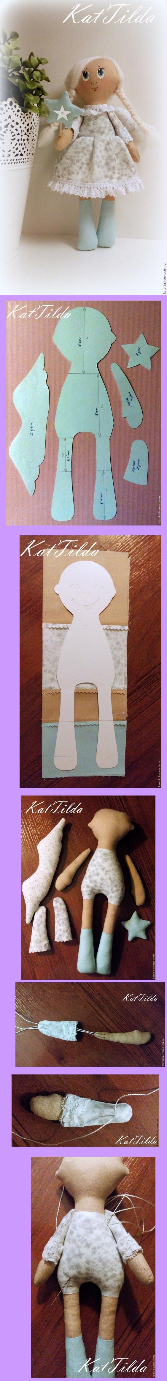free pattern: Angel Cloth Doll