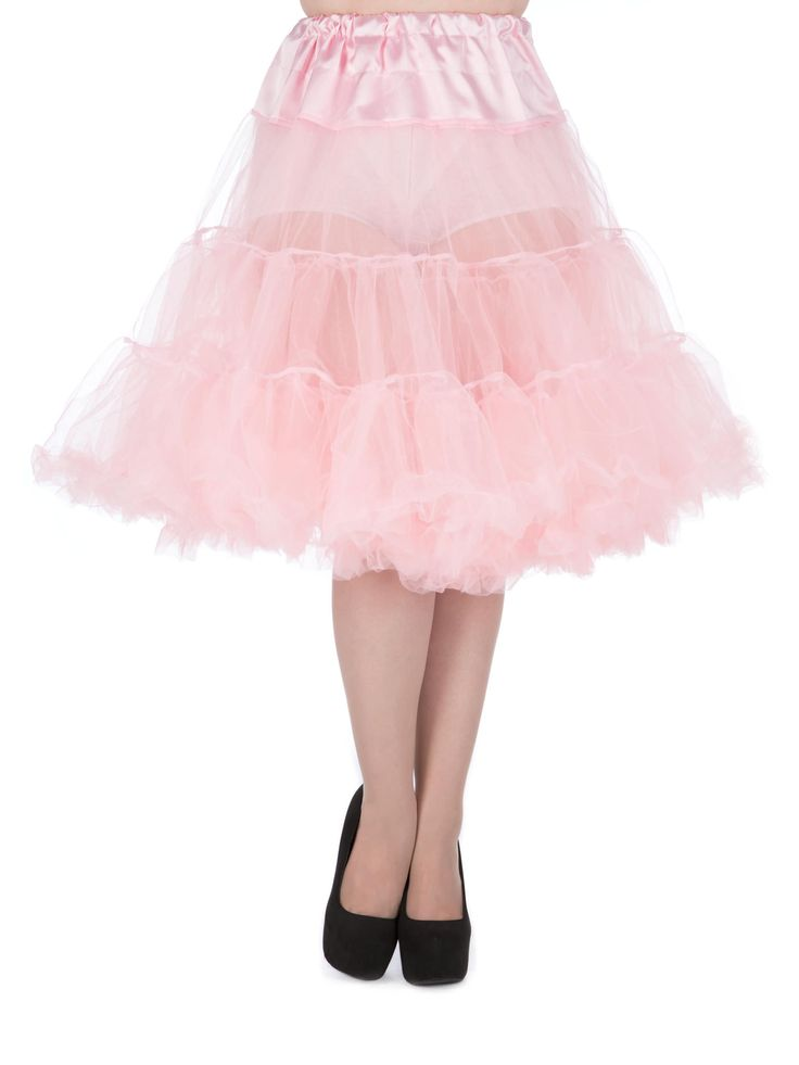 """""""Lady Vintage"""" 50s Style Petticoat.   Double Layer Petticoat with High Quality Satin..."""