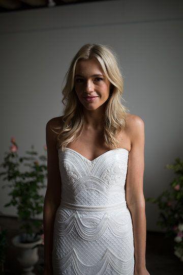 BESPOKE 'Ophelia' wedding gown by Karen Willis Holmes.   Follow us - @KWHBridal | Photography - Sophie Thompson . #karenwillisholmes #bridetobe #sequinweddingdress #modernwedding  #kwhOphelia