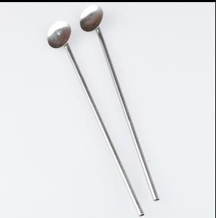 Bar Tools bar hotel supplies multifunctional stainless steel spoon drinking fruit straw stirring rod 10pcs/lot free shipping