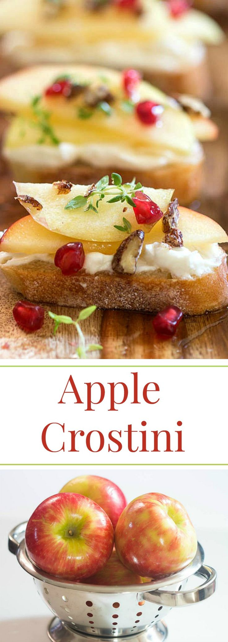 Honey Crisp Apples with Whipped Goat Cheese and Candied Pecans from Simply Fresh…