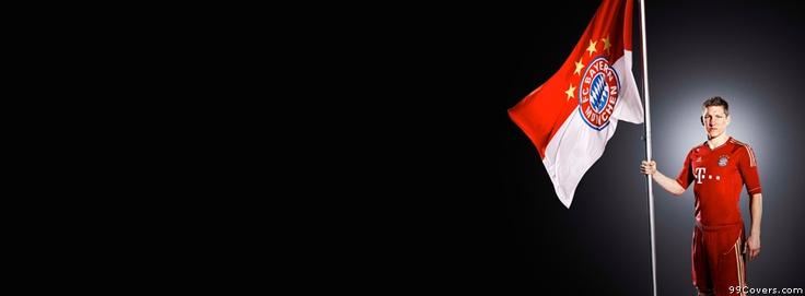 Bayern Munich Flag Facebook Covers