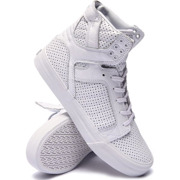 skytop hf sneakers by Supra (305 SAR) ❤ liked on Polyvore featuring shoes, sneakers, supra sneakers, supra footwear and supra shoes