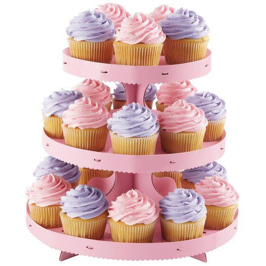 Wilton Cupcake Stand, Pink