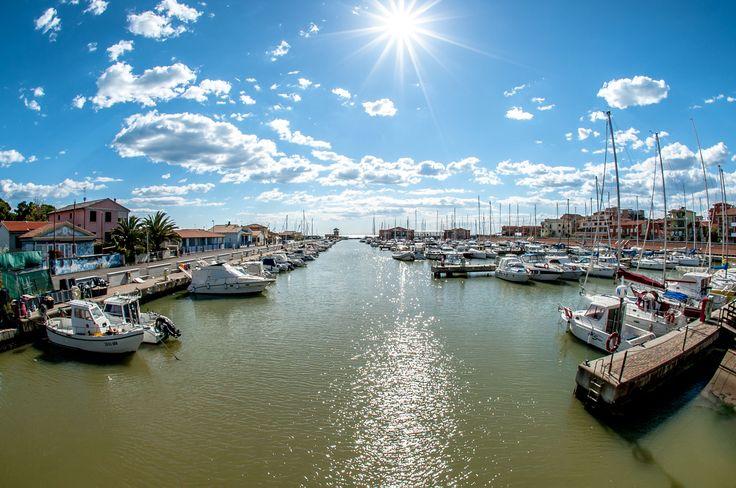 Il sogno di navigare inizia da qui #sole #Maremma #viaggio