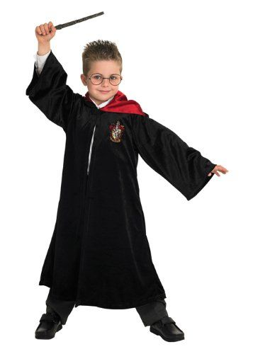 Deluxe Kids Harry Potter Gryffindor Robe Large (7-8 years) @ niftywarehouse.com