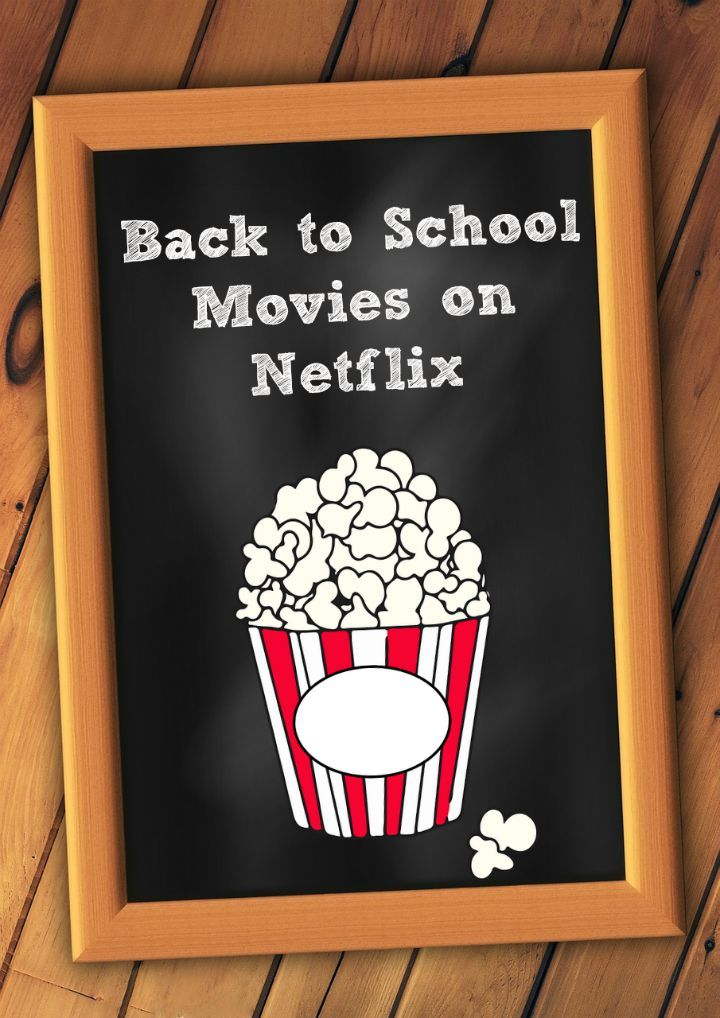Check out our favorite back to school movies on Netflix that show what it was like to be a teen through different decades!