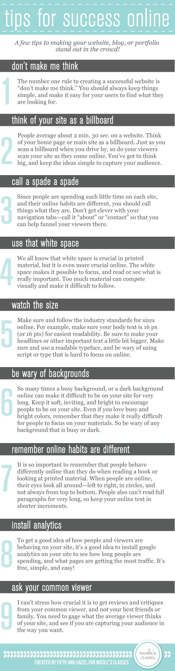 10 Tips to Making Your Website and Portfolio Stand Out in the Crowd | #webdesign #portfolio #infographic http://franchise.avenue.eu.com/