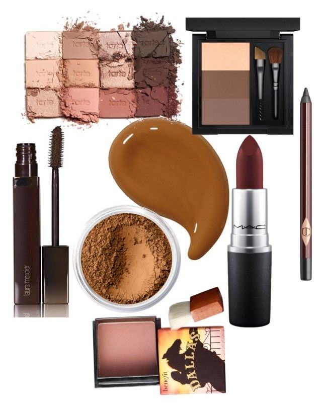 """""""Meke up by Aja"""" by jessiaja on Polyvore featuring beauty, Laura Mercier, Bare Escentuals, MAC Cosmetics, tarte, Charlotte Tilbury and Benefit"""