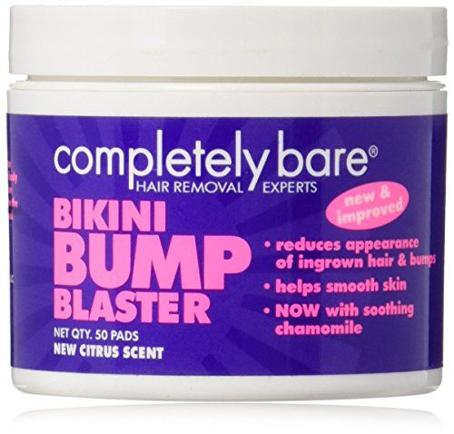 completely bare bikini bump blaster