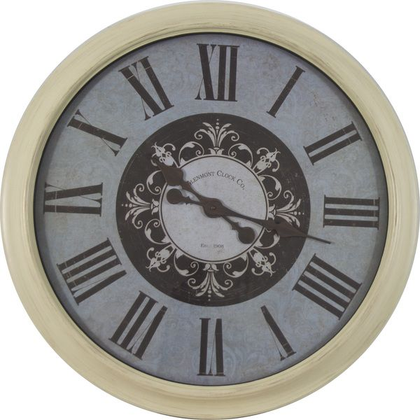 30 inch Distressed Frame Glenmont Roman Numeral Clock. 156 best Clock images on Pinterest   Desk clock  Table desk and
