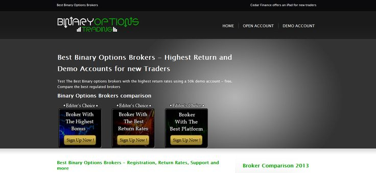 binary options brokers, best binary options brokers, Binary Options Broker -- http://www.best-binary-options-brokers.com/