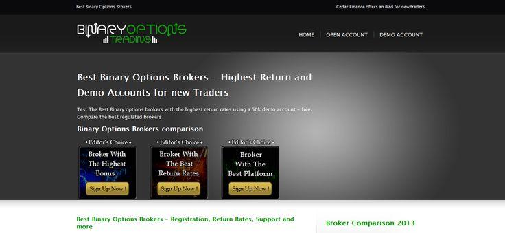 binary options brokers, best binary options brokers, Binary Options Broker -- http://www.best-binary-options-brokers.com/