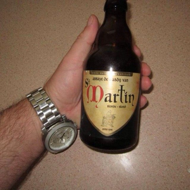 Abbaye de St Martin Blonde-Belgian Strong Pale Ale...
