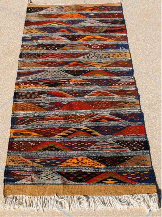 stair runner 2x5 stairway runner hallway runner psychedelic hippie tapestry kilim runner runner rug floor rug striped rug