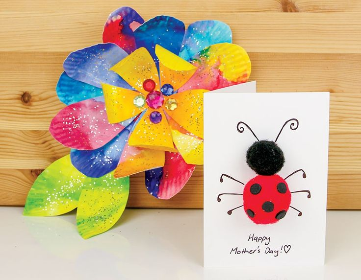 Two sweet mother's day craft activities for Mum!