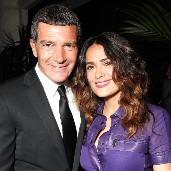 You Have to See These 1995 Throwback Pictures of Salma Hayek and Antonio Banderas