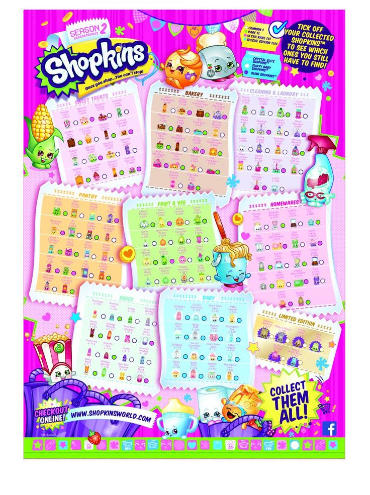 Shopkins Season 2 List Google Search Jena Pinterest