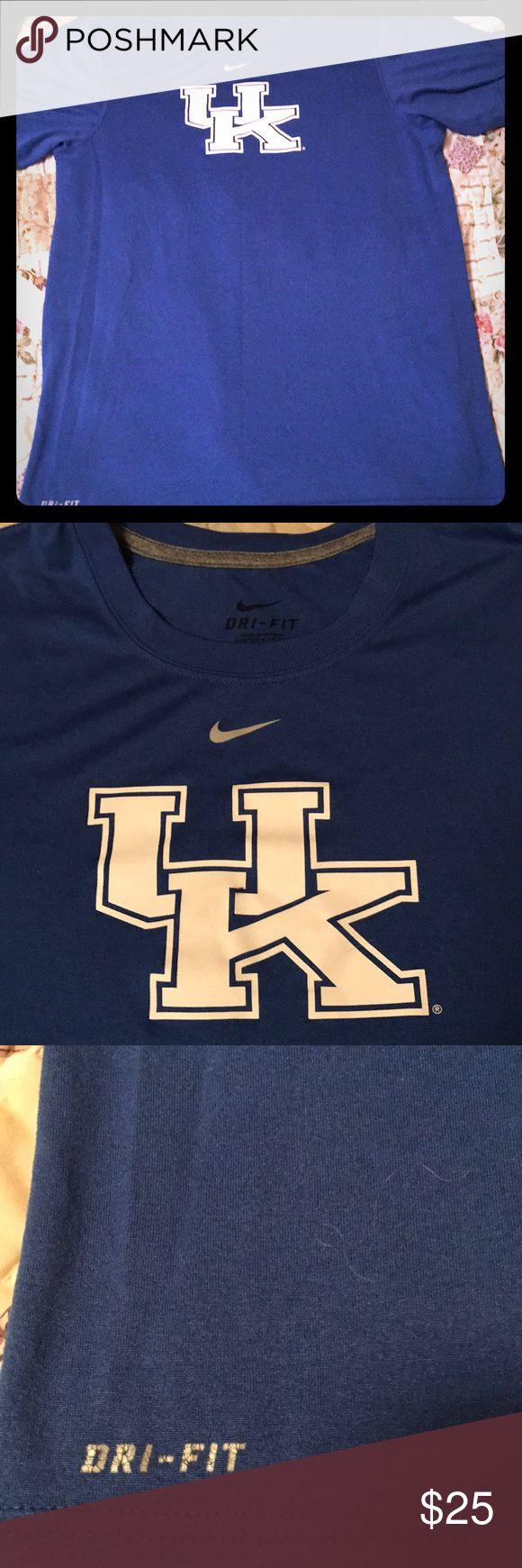 UK Nike Dri fit University of Kentucky Nike Dri Fit Sz men's small. No defects. Nike Shirts Tees - Short Sleeve