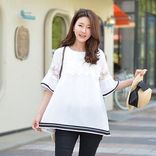 Lace-Trim Top from #YesStyle <3 J-ANN YesStyle.com