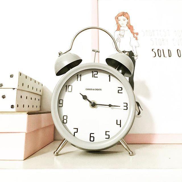 #clock #decor #homedecor #homesweethome #homedesign #grey #pink #pepco #instadesign #instadecor #like4like #likeforlike #l4l