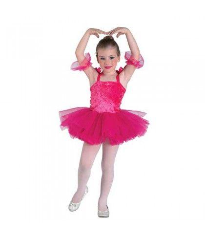 Μπαλαρίνα στολή για κορίτσια σε ροζ χρώμα