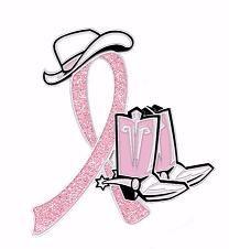Cancer du sein Cowgirl Cowboy Ouest Bottes Chapeau Glitter Ruban Rose Pin …   – http://www.pamperedchef.biz/barbrestout