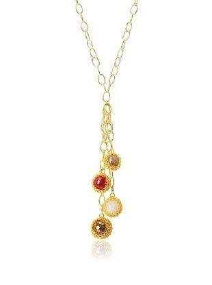 63% OFF Grand Bazaar Multiple Ball Tassel Crochet Necklace