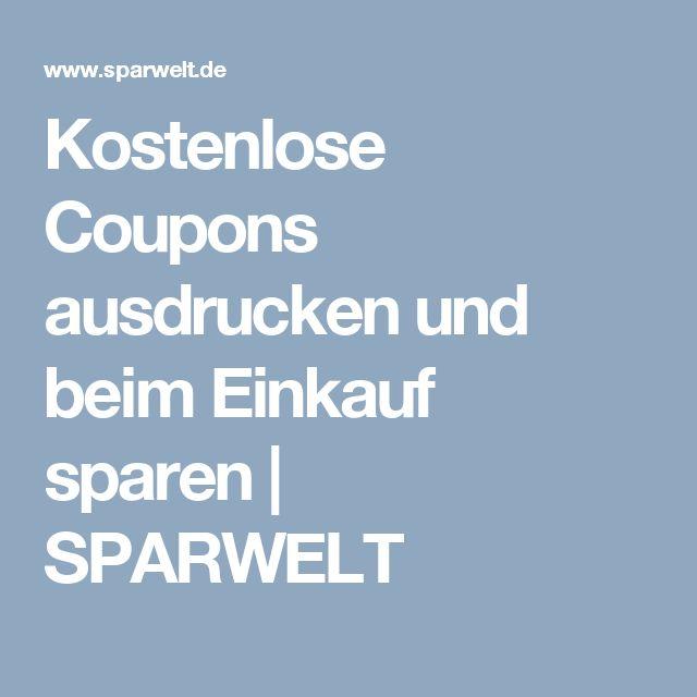 Kostenlose coupons zum ausdrucken