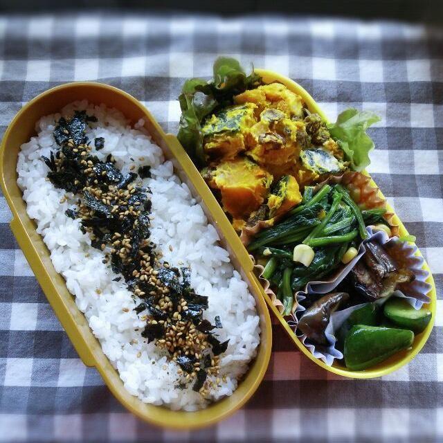 今日のお弁当はベジタリアン!! 少しずつ残ったおかずを詰め合わせたらそうなりました(;゜∇゜) - 35件のもぐもぐ - 私弁当 by Sachiyo Tanaka