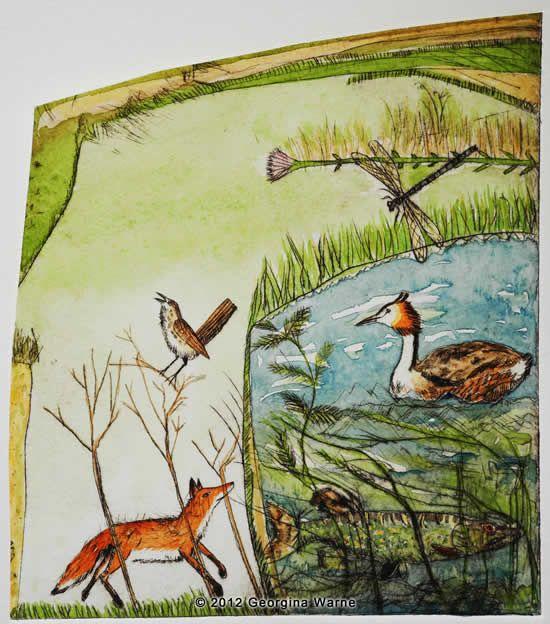 'The Pike' by Georgina Warne