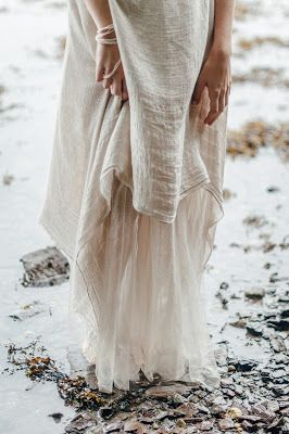 © Ayna O'Driscoll Photography, Styling/Couture/Crown: Alice Halliday https://www.etsy.com/listing/466585420/boho-wedding-dress-mermaid-wedding-dress Boho Bridal Inspiration, Lady of the Lake, Mermaid Style, Boho Bride, Beach wedding