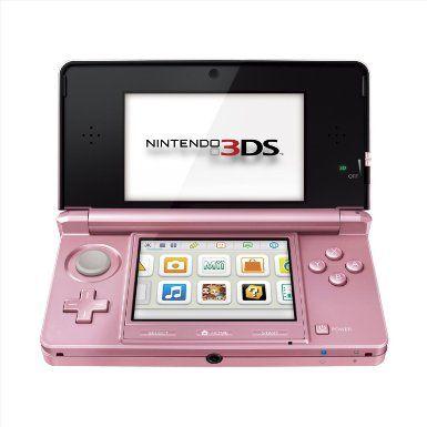 Amazon.com: Nintendo Nintendo 3DS Pearl Pink: Nintendo 3DS;: Video Games
