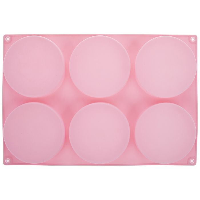 Pink Flat Disc Mold Hobby Lobby 1904598 Mold Making Molding Pink Flats