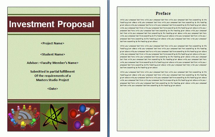 A Business Investment Proposal Is A Document That Is Usually