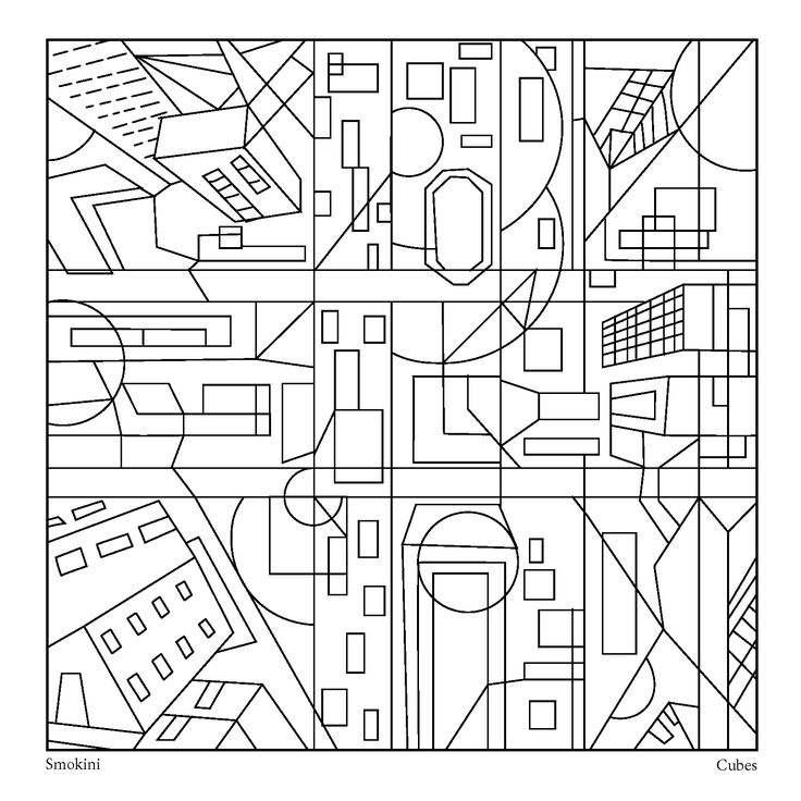 This coloring page is dedicated to a New York city. It is ...