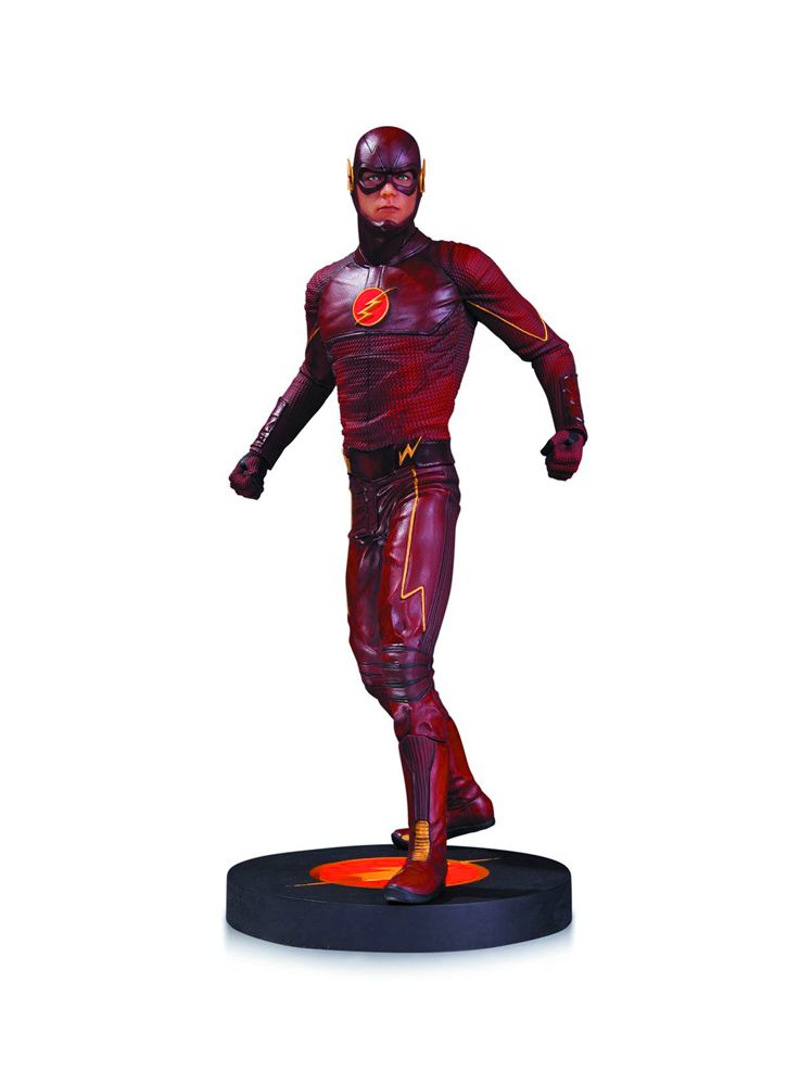 The Flash (TV) Statue