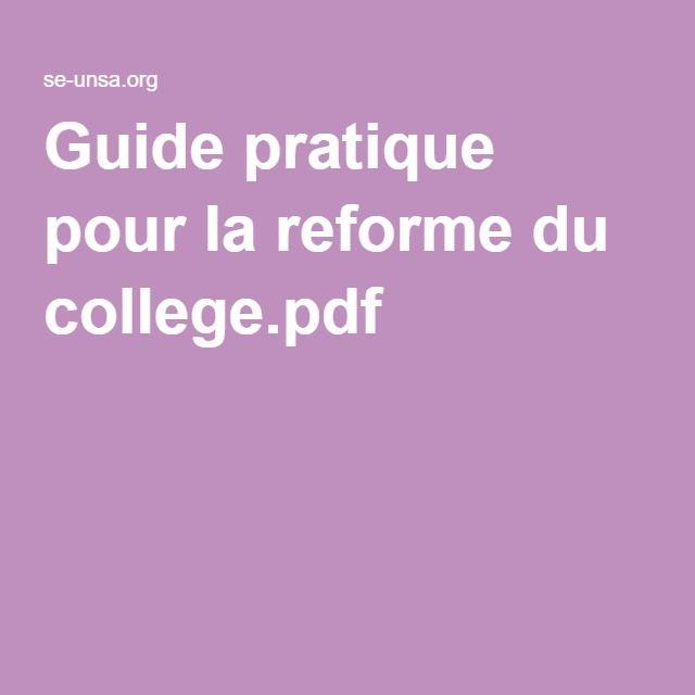 Guide pratique pour la reforme du college.pdf