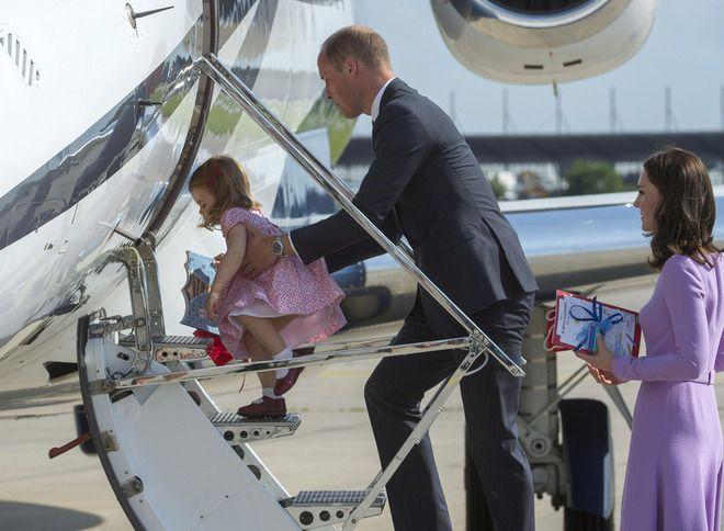 Принцесса Шарлотта и принц Уильям