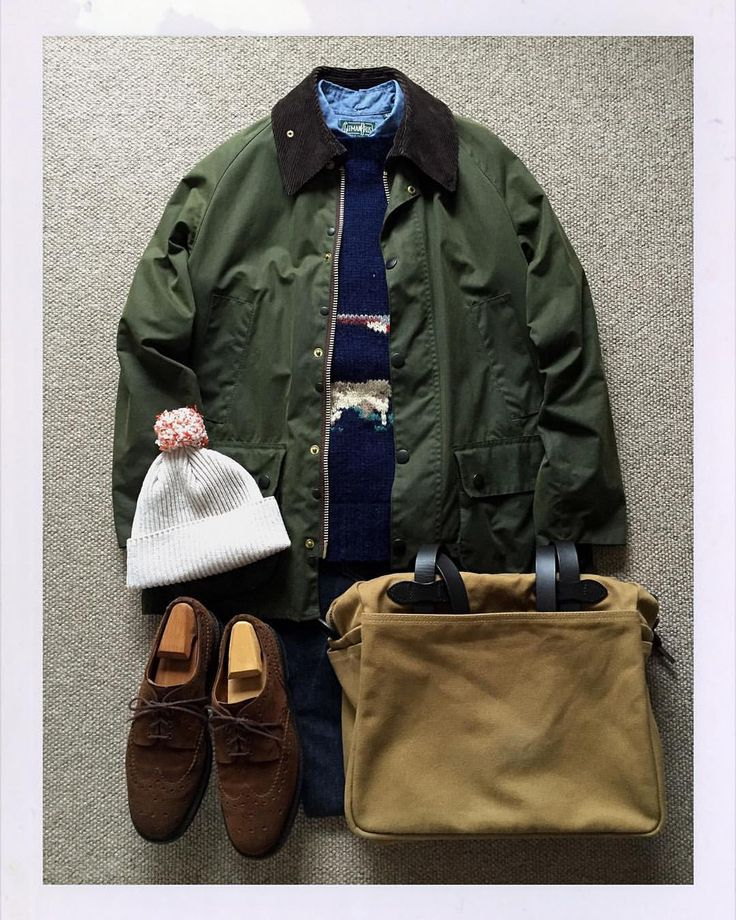 The.Daily.Obsessions — Today's Outfit. #Barbour #Bedale Oiled Jacket...