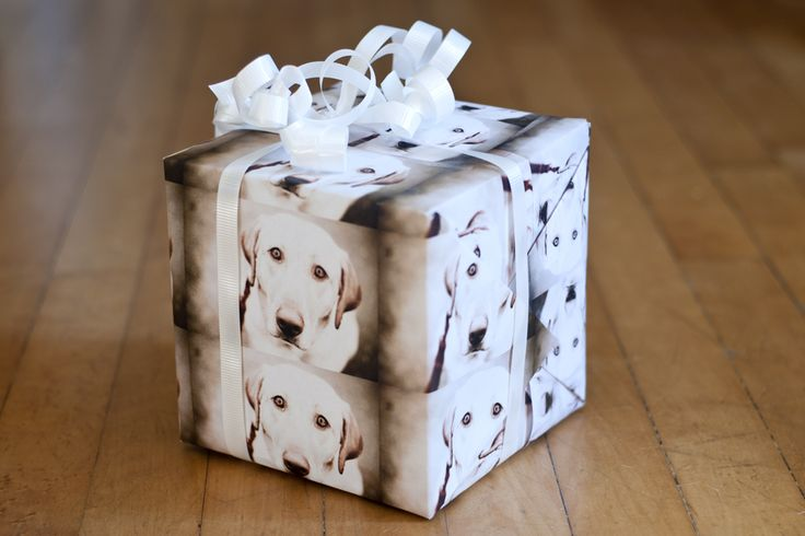 DIY Photo Wrap by photojojo #DIY #Wrapping_Paper #Photo