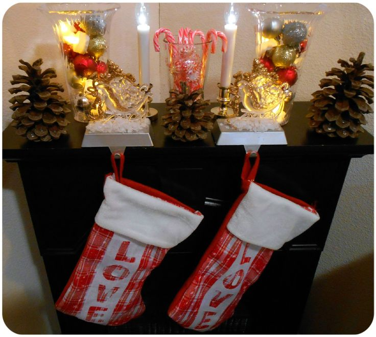 Dollar Tree Home Decor Ideas Part - 26: DOLLAR TREE HOME DECOR IDEAS | ... , Plus Christmas Mantel And Other Dollar