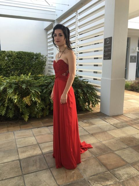 Stunning in red  at matric dancedance