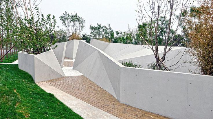 Beijing Sunken Gardens designed by Plasma Studio and Groundlab / Shapedscape: Landscape Architecture Matters