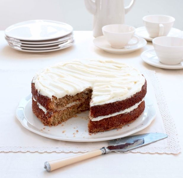 Mary Berry's favourite recipe for a classic carrot cake. From Mary Berry & Lucy Young Cook Up a Feast.