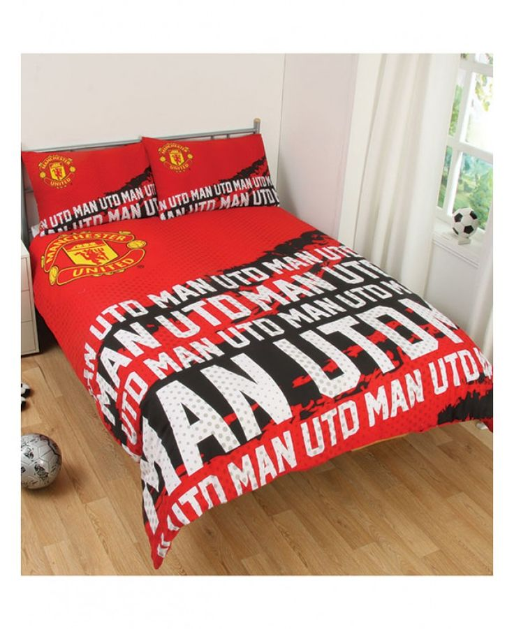 This Manchester United Impact Double Duvet Cover Is The