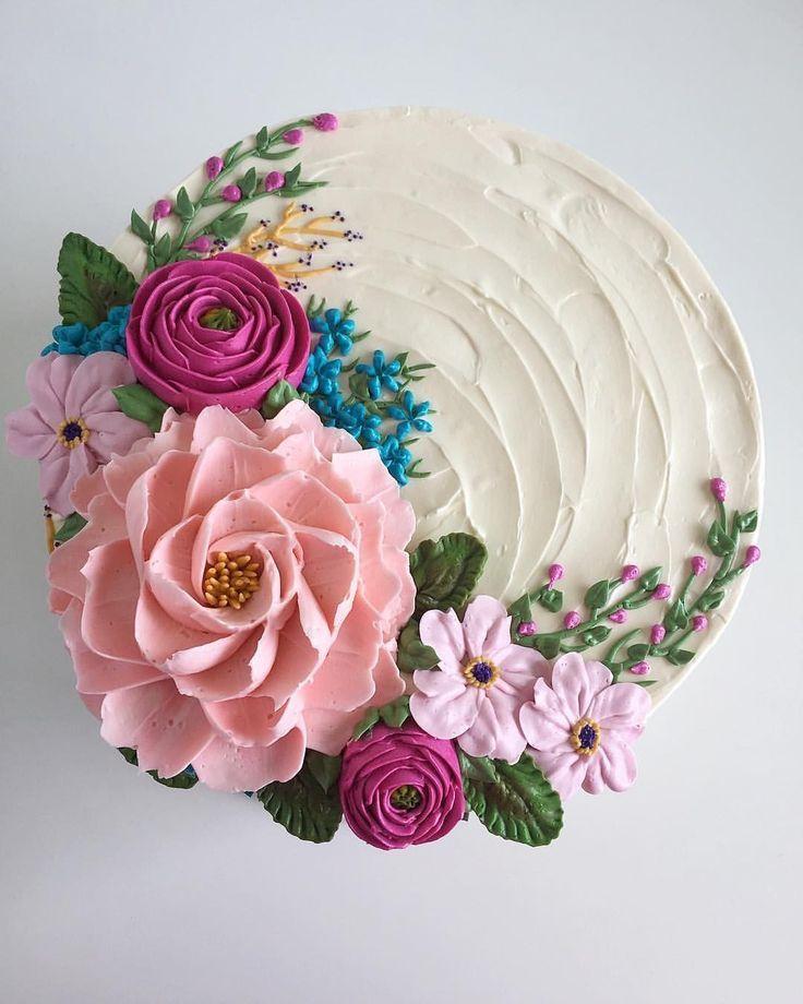 einfache Tortendekoration für Anfänger – Cake Decorating Ideas – # beginner #C …   – Torten für meinen Geburtstag